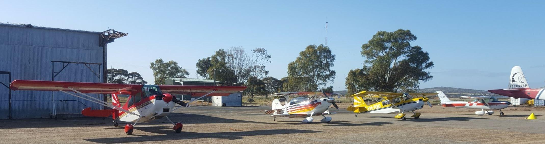 Planes at YCUN